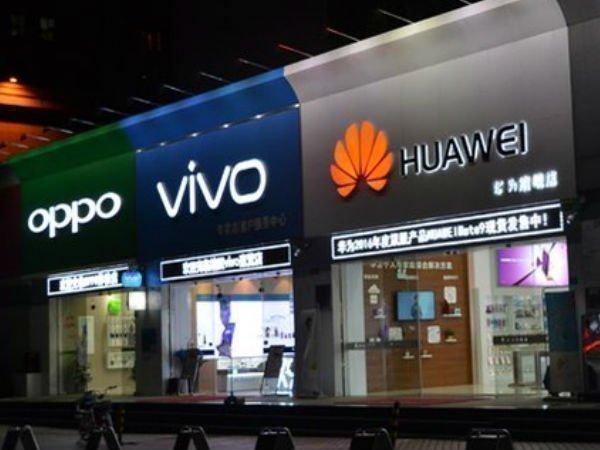 Chinese smartphones market declines