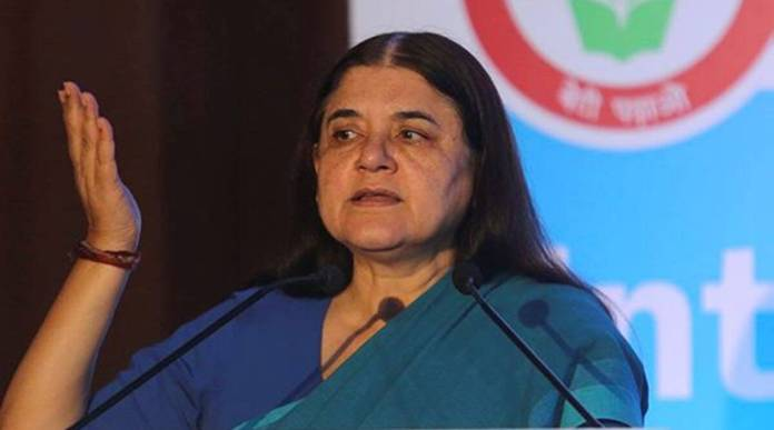 Audio clips of conversation that show Maneka Gandhi threaten and abuse have gone viral
