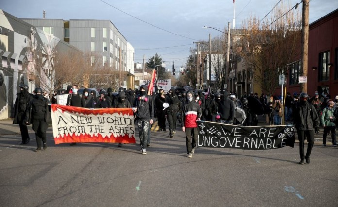 Antifa continues its rampage in Oregon
