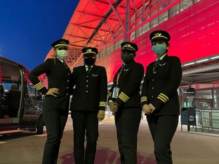 Air India women pilots fly world's longest commercial route from San Francisco to Bengaluru over North Pole