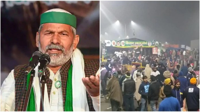 As many farmer unions back out of protests after the R-Day violence, Rakesh Tikait turns it into a caste rally
