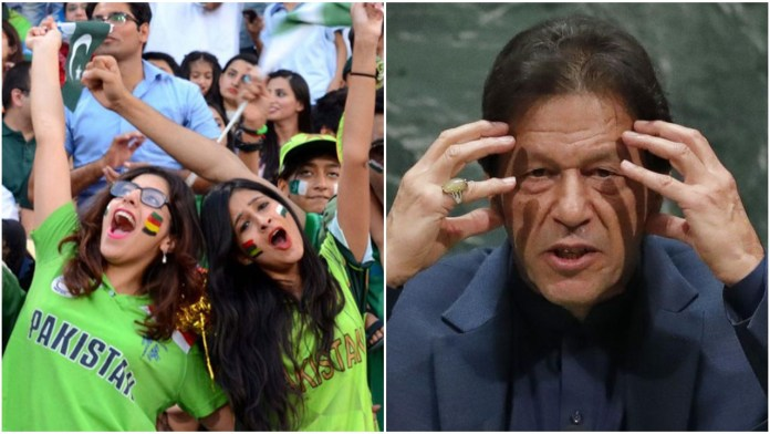 Pakistan government, people celebrate after Imran Khan wins Twitter poll