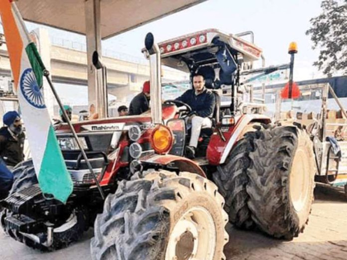 Tractor modified with Rs 35 lakhs draws attention