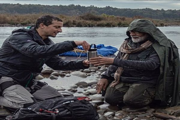 Bear Grylls remembers show with PM Modi