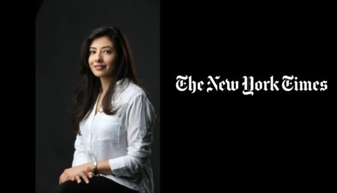 Journalist at New York Times shares make-believe story to defame India's vaccination drive