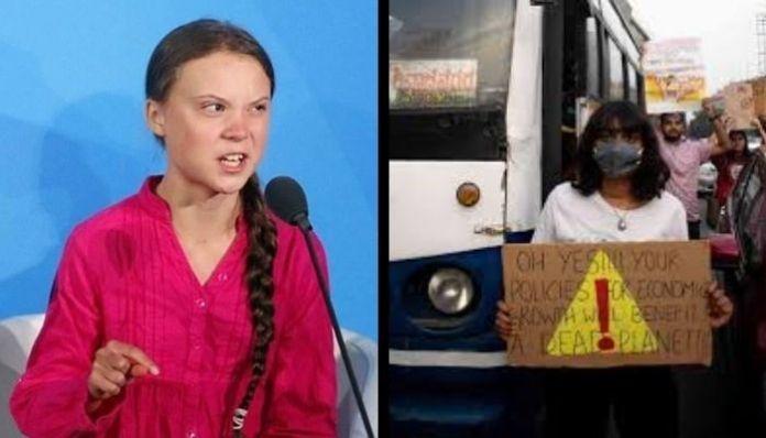 Whatsapp chat between Disha Ravi and Greta Thunberg