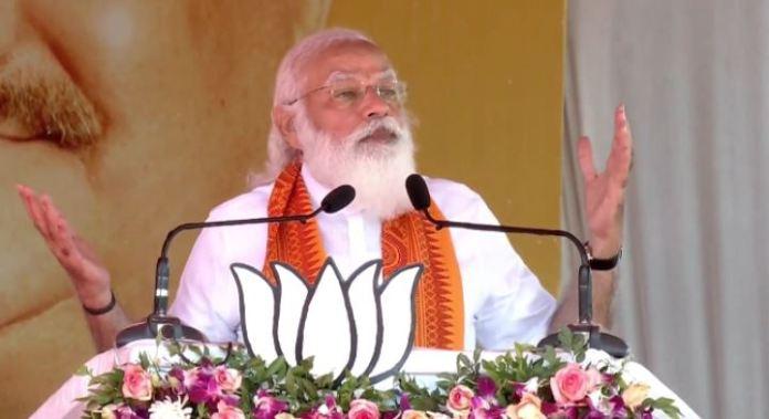 PM Modi speaks in Puducherry, slams Congress govt for delaying development