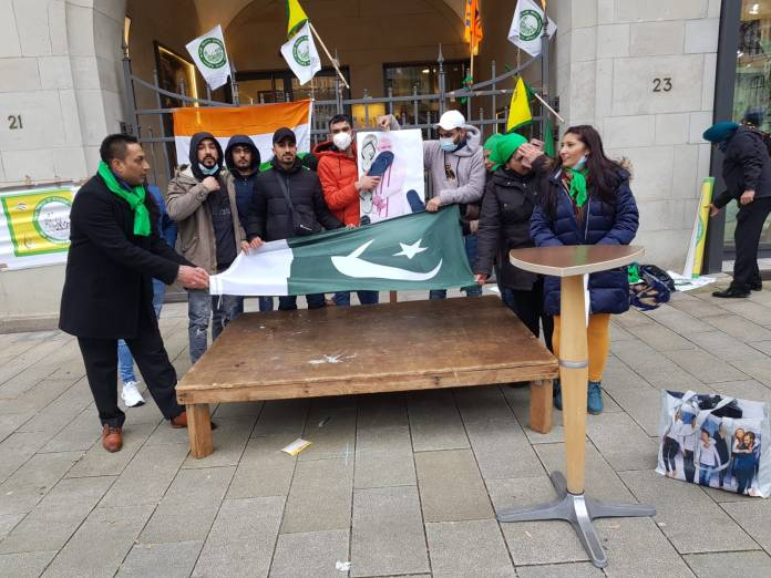 Indian Overseas Congress Germany unfurls Pakistani flag, claims B|JP