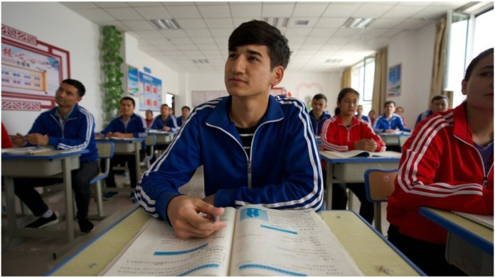 Uyghur students in China's Keplin county in Xinjiang are no longer allowed to study in Uyghur language