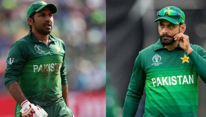Sarfaraz Ahmad and Mohammad Hafeez engage in public spat