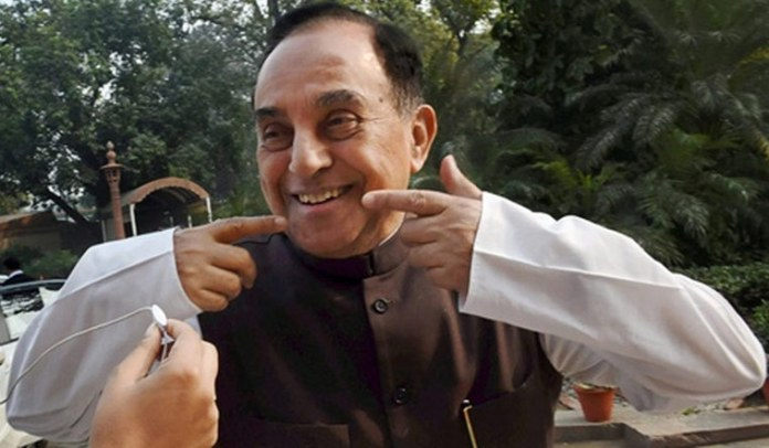 Subramanian Swamy shares fake data on petrol prices