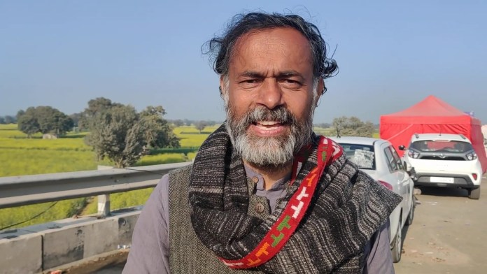 Is Yogendra Yadav now an anti-election activist?