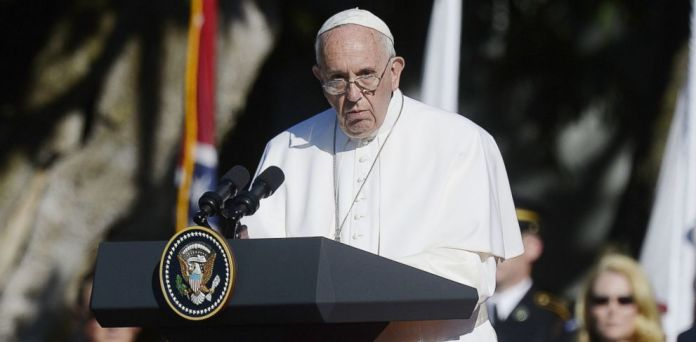 Pope Francis of Vatican