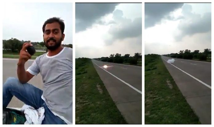 UP: Two men arrested on Nawabganj over old video of throwing crude bomb on road