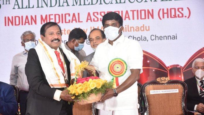 Dr JA Jayalal, the head of Indian Medical Association, is a closet Christian evangelist