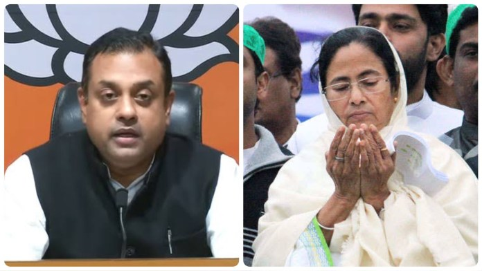 Sambit Patra slams Mamata Banerjee for maligning Lord Ram by claiming murders and rapes are committed in his name