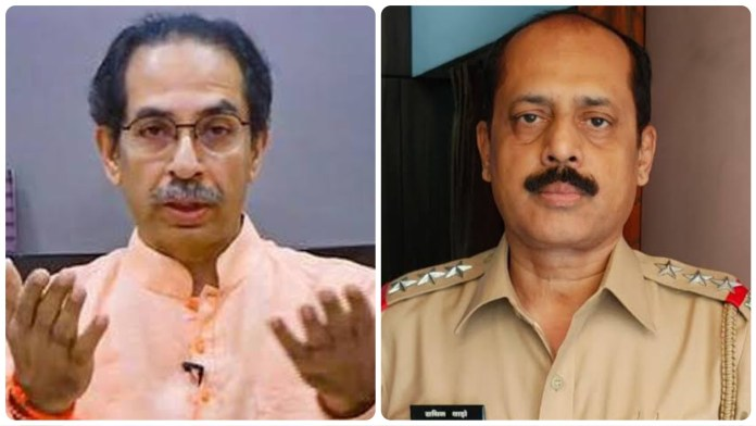 Shiv Sena mouthpiece rushes in the defence of Sachin Vaze, calls his arrest politically motivated