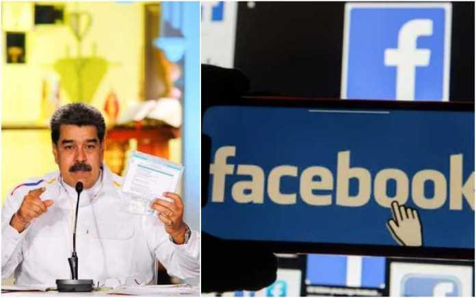 Nicolas Maduro slams Facebook for blocking his account