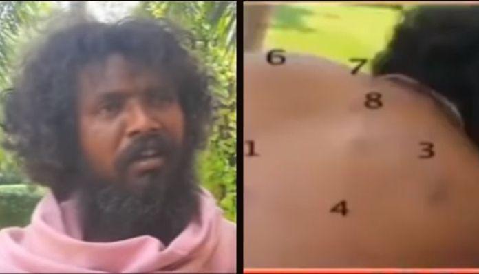 Naga Sadhu brutally assaulted by cops in Congress-ruled Chhattisgarh