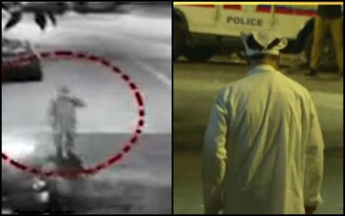 NIA recreates Antilia bomb scene where man in PPE kit was seen: Sachin Vaze walks in an over-sized kurta, a mask and a handkerchief on his head