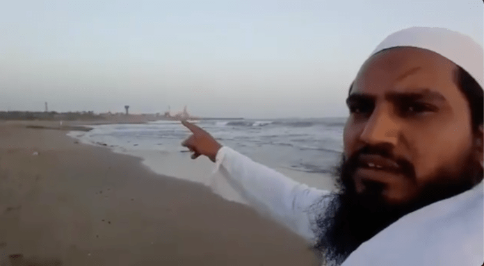 A Muslim man shares a video glorifying the attack on Somnath Temple by Muslim invaders