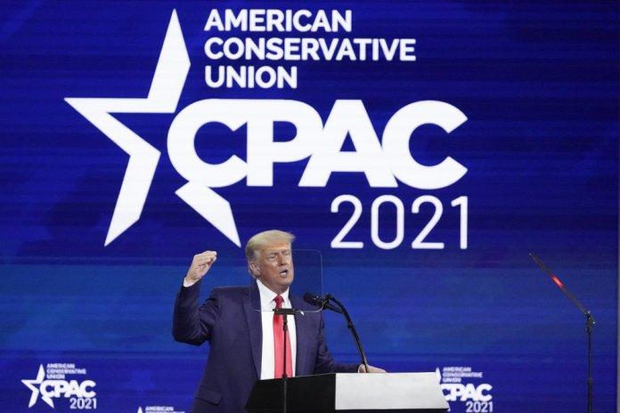 Donald trump at CPAC
