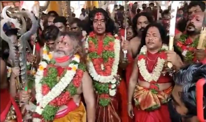 Kerala: Traditional Meena Bharani festival stopped at Kodungallur Bhadrakali temple