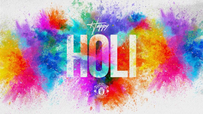 Manchester United attacked on social media for wishing Hindus a Happy Holi
