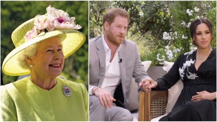 Buckingham Place releases statement over Harry and Meghan's racism allegations