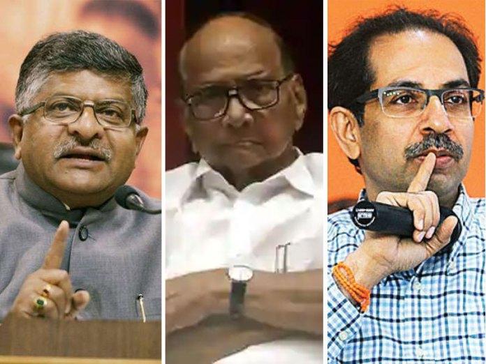 Ravi Shankar Prasad attacked MH Govt