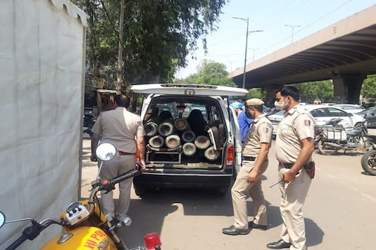 Delhi Police revives the idle oxygen plant in Mundka to deal with the growing demand of oxygen in city's hospitals