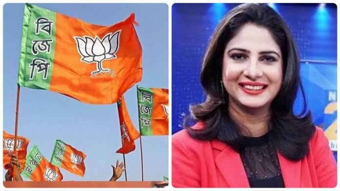 Journalist Sakshi Joshi admits BJP has worked on the ground in West Bengal in a discussion on Twitter Spaces