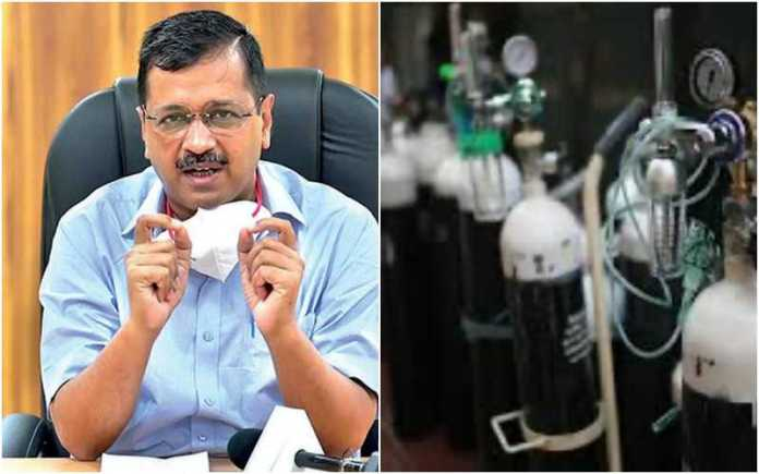 Kejriwal claims Delhi's 'Oxygen quota' being diverted to other states