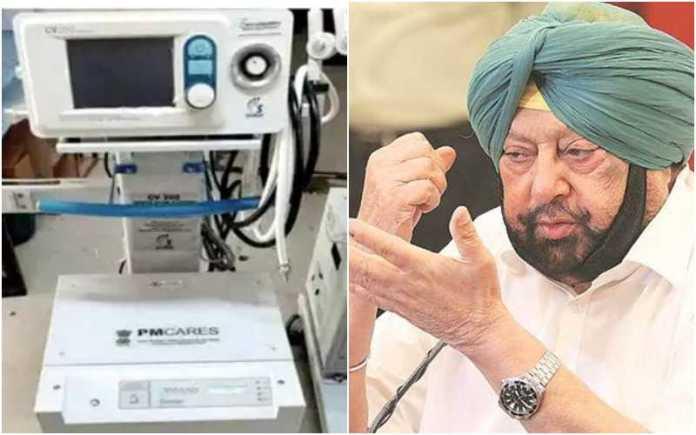 250 ventilators lying unused in Punjab