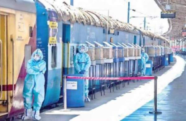 Indian Railways readies 64,000 beds in 4000 covid care coaches