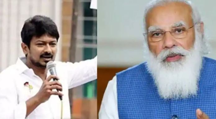 Udhayanidhi Stalin rants against PM Modi in political rally