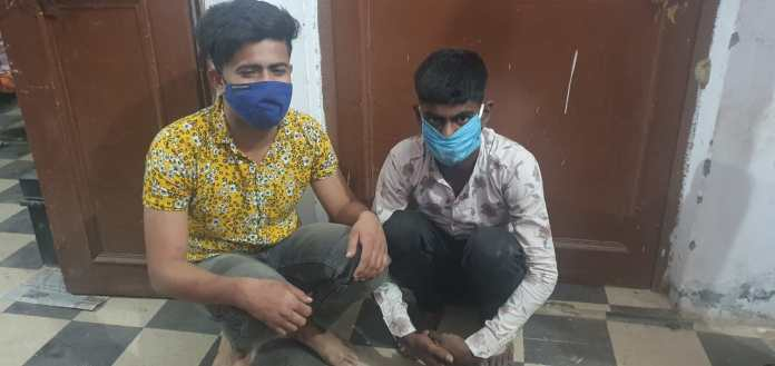 Amaan Malik and Shaadab arrested for kidnapping a girl at knifepoint and later assaulting her before throwing her off in Gangnahar