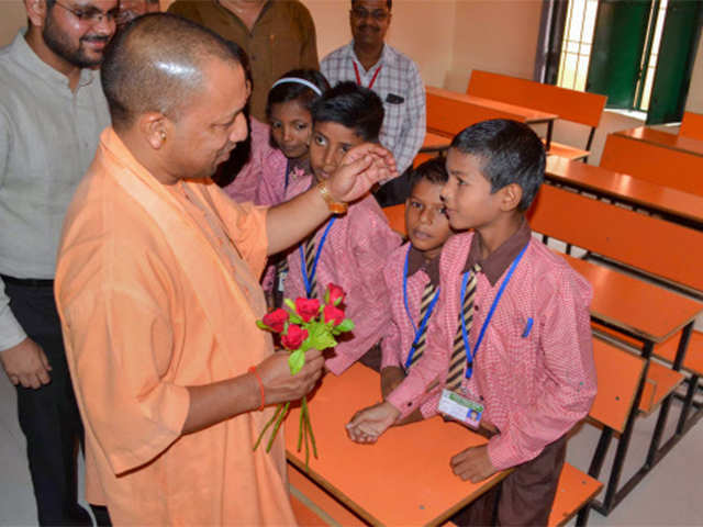 Yogi government converts over 15,000 govt schools in UP into English medium