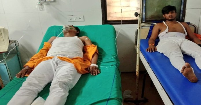 BJP Diamond Harbour candidate Dipak Halder attacked