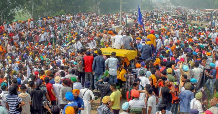 After bringing UK strain to India, Punjab farmers blame the state government for the Covid-19 mismangement