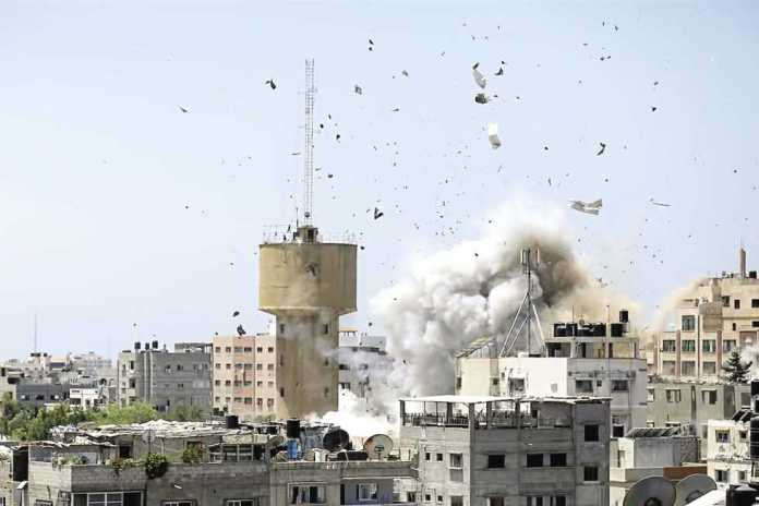Israel destroyed Hamas Metro in a clever attack amidst the ongoing violent confrontation with the terrorist group