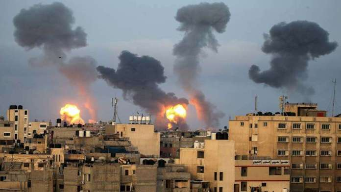 Lebanon fires at Israel, IDF launches ground, air attacks on Hamas in Gaza