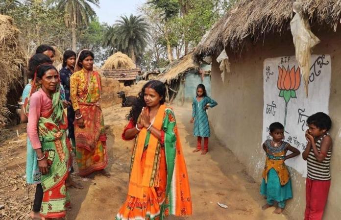 BJP's Chandana Bauri, wife of daily wage earner, wins from Saltora in WB
