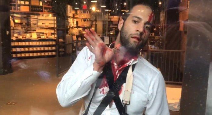 Manhattan man attacked