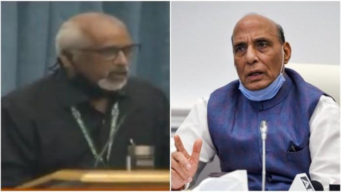 DRDO scientist thanks his former physics teacher Union Minitse Rajnath Singh