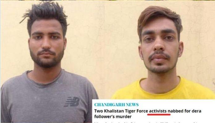 Mainstream media refers to arrested Khalistani terrorists as 'activists'