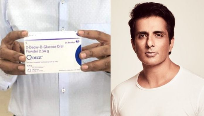 Sonu Sood promises to arrange for commercially unavailable 2-D drug