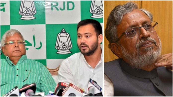 RJD posts vile, abusive tweet against Bihar Dy CM Sushil Modi