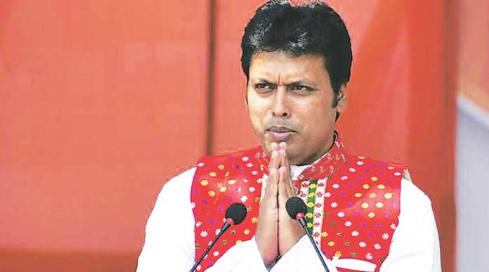 Biplab Kumar Deb announces a portal to prop up pandemic-hit people amidst COVID-19 woes