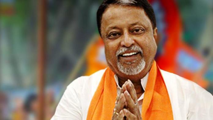 West Bengal BJP leader Mukul Roy